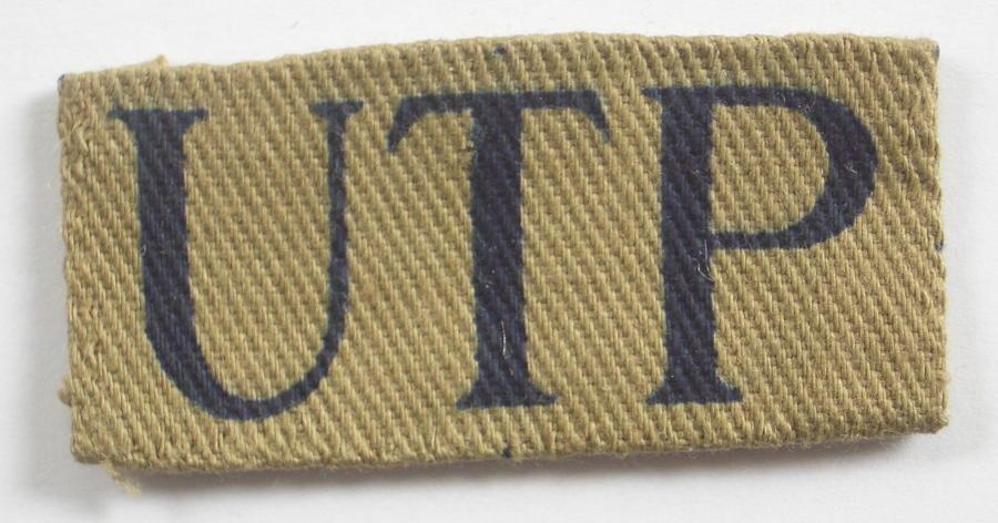 Upper Thames Patrol WW2 designation