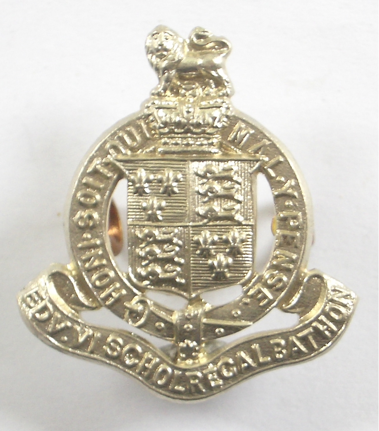 King Edward's School Bath OTC  cap badge
