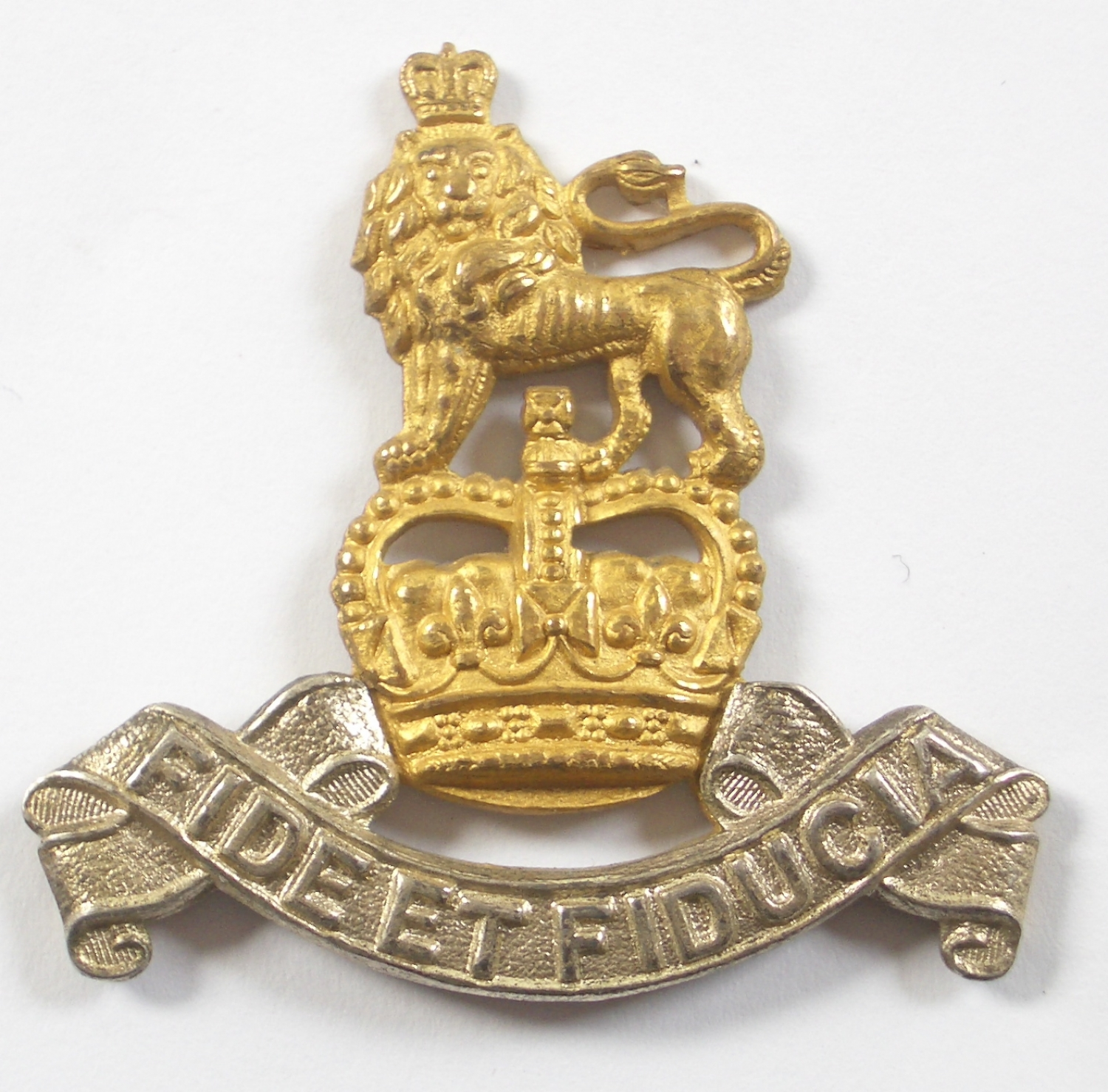 Royal Army Pay Corps Officer's cap badge