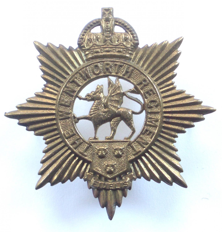 Canadian Wentworth Regiment cap badge