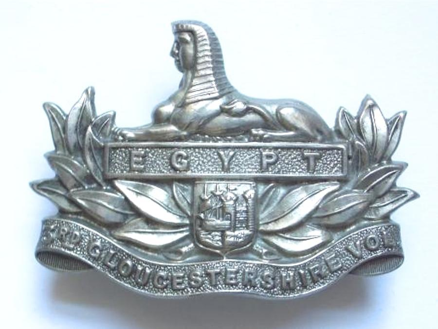 3rd VB Gloucestershire Regiment cap badge