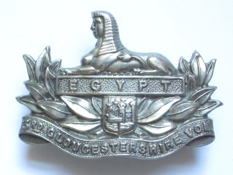 3rd VB Gloucestershire Regiment cap badge