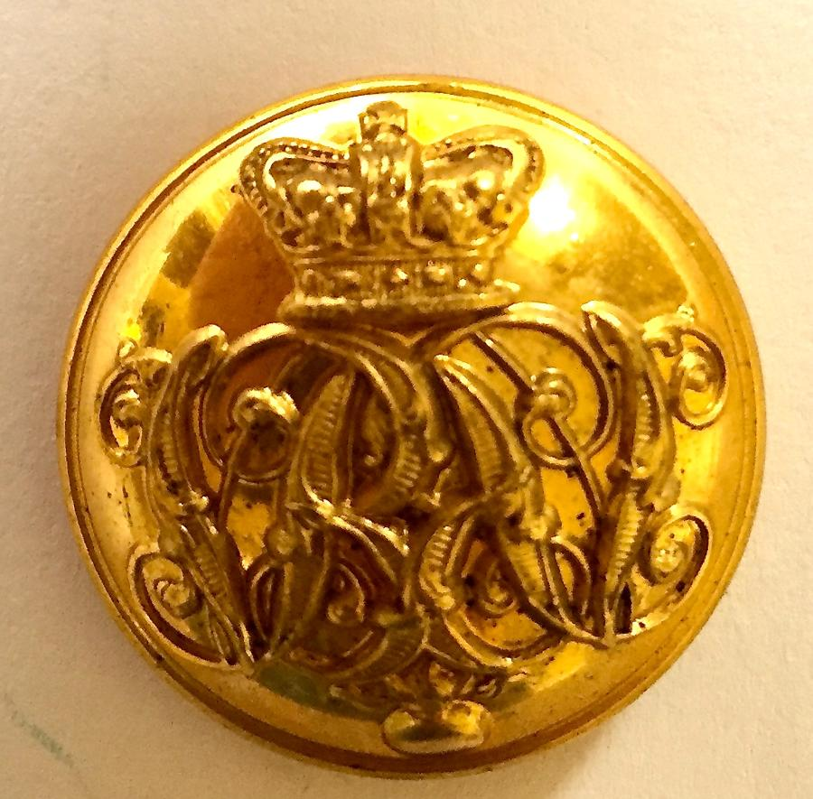 Grenadier Guards Victorian Officer's button