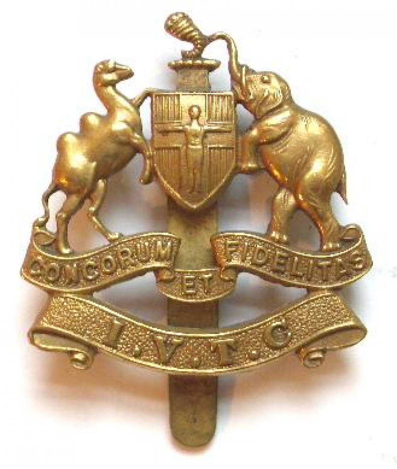 Scottish. Inverness VTC rare WWI  cap badge.