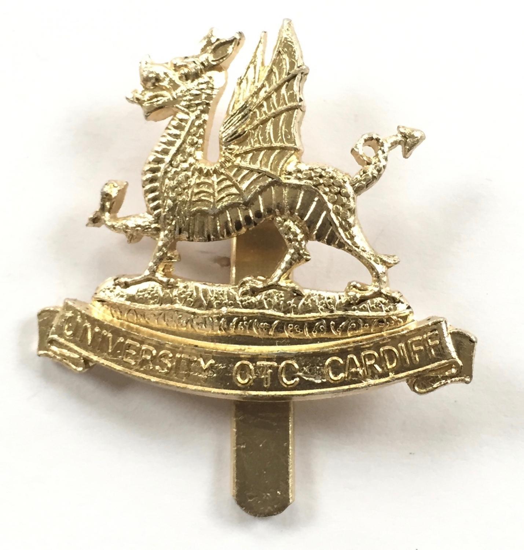 Cardiff University OTC anodised cap badge