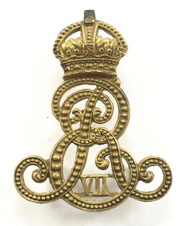 Norfolk Imperial Yeomanry Ed VII cap badge circa 1901-08