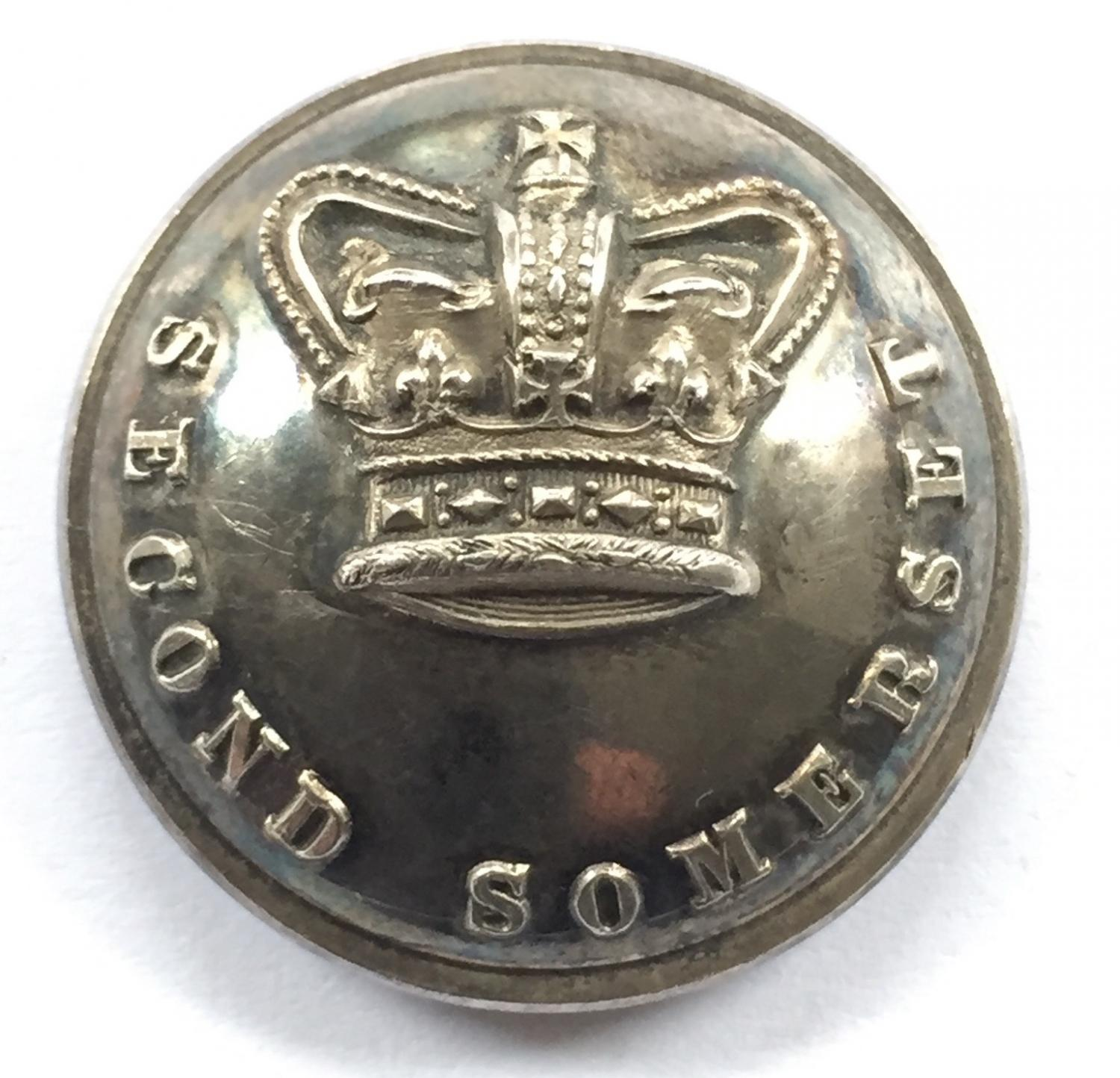 Second Somerset Militia Officer's button.