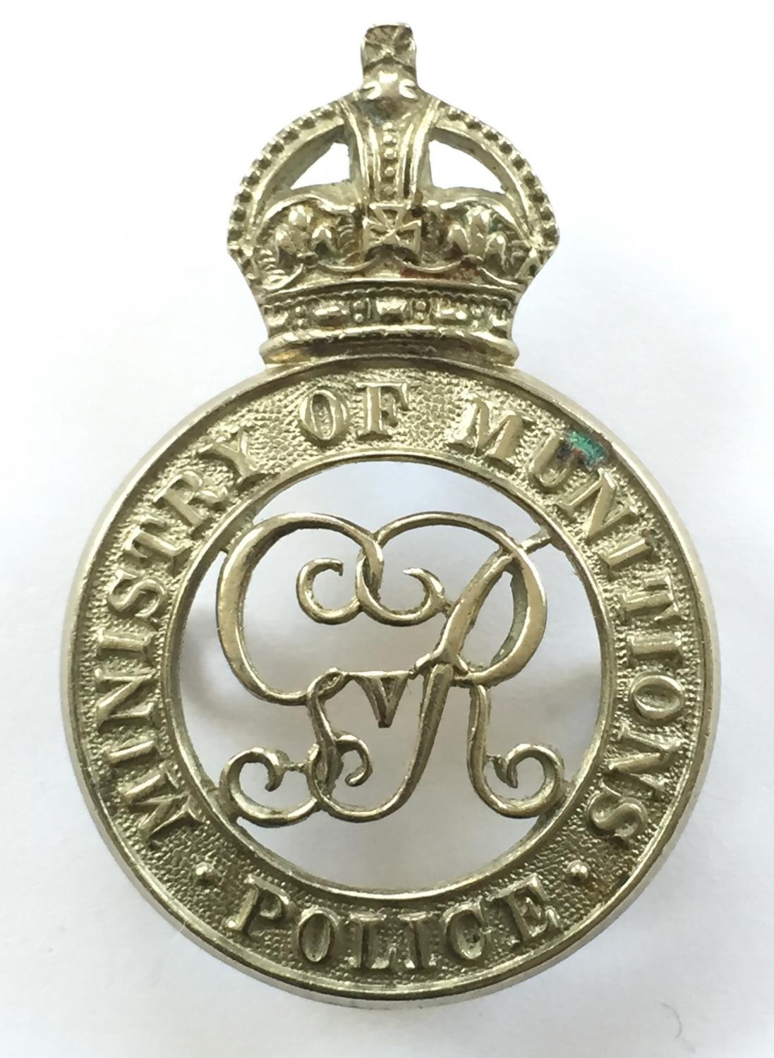 Ministry of Munitions WW1 Women Police Service by Lewis