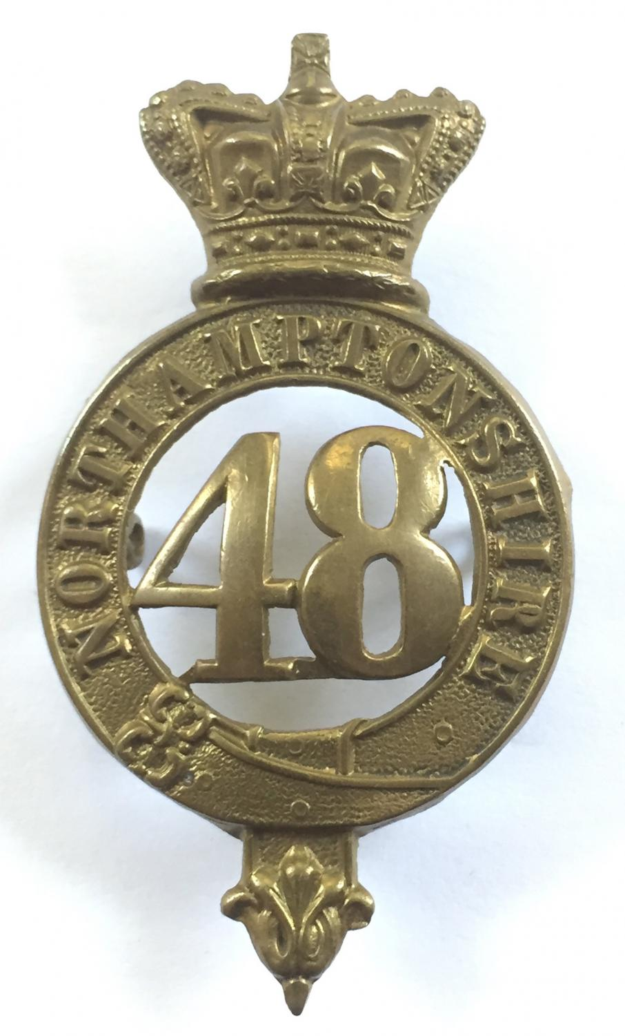 48th (Northampton) Regiment of Foot Victorian glengarry circa 1874-81