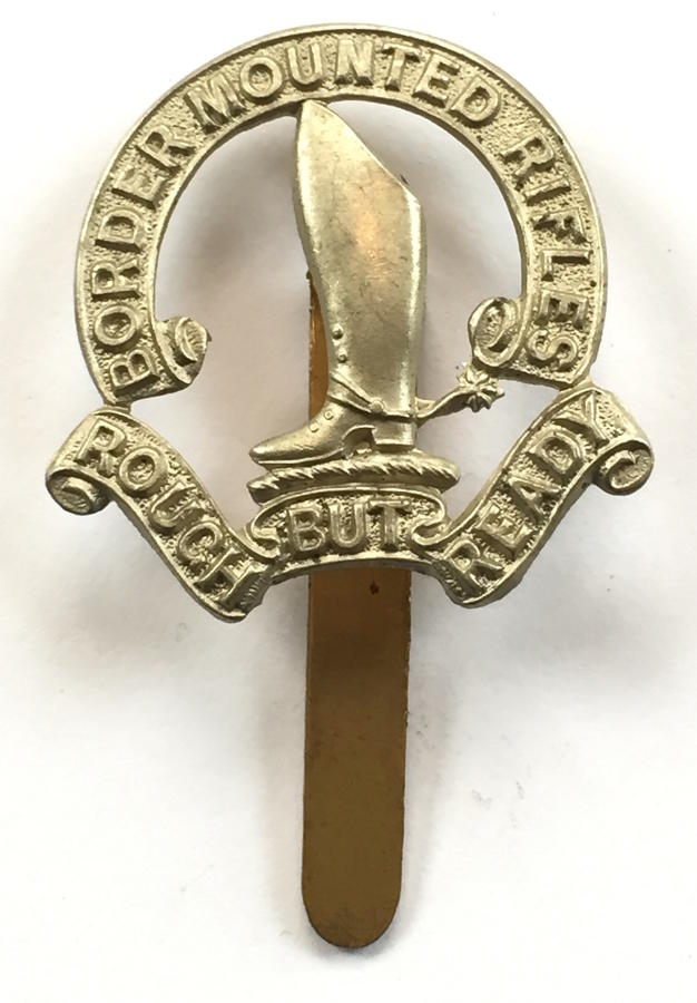 South Africa. Border Mounted Rifles cap badge