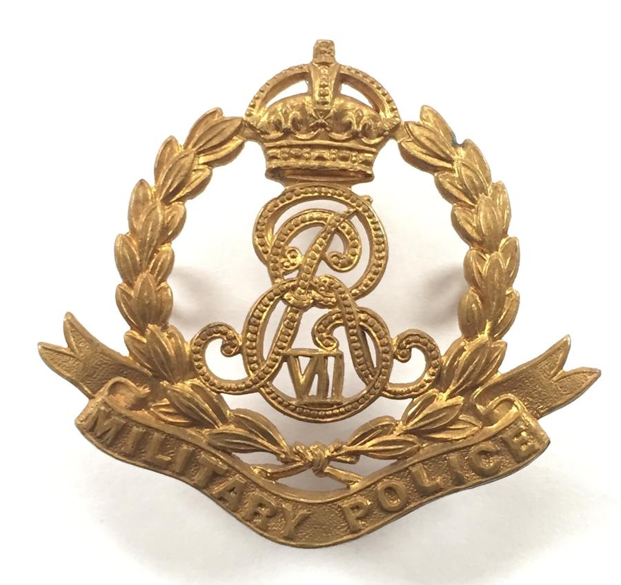 Military Police scarce Edward VII cap badge