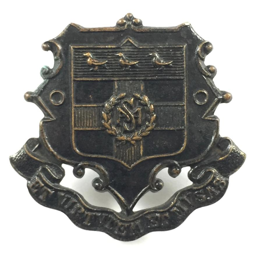 Mill Hill School OTC scarce pattern cap badge