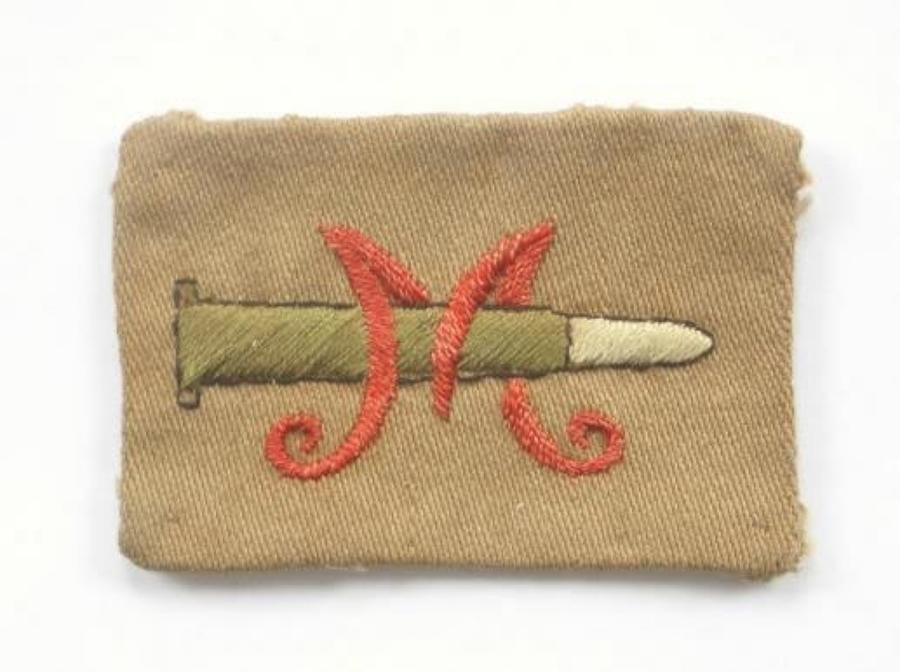 Volunteer Training Corps WWI VTC Marksman's cloth badge