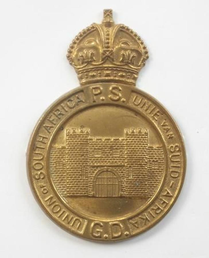 South African Prision Service Head-dress Badge