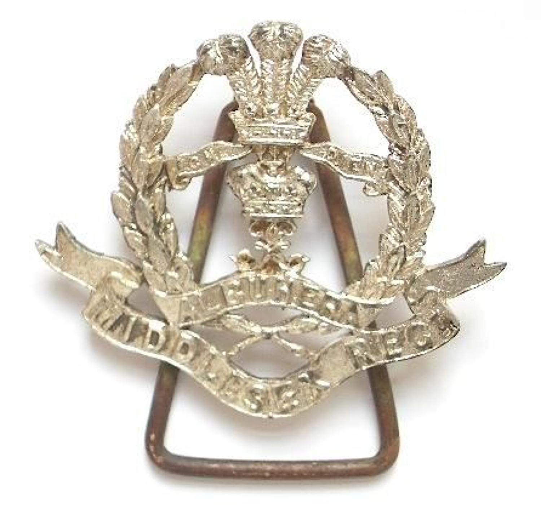 Duke of Cambridge's Own Middlesex Regiment post 1896 Officer's pagri