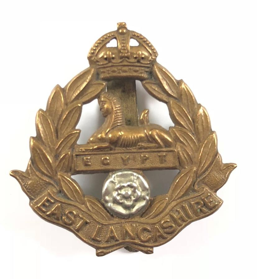 East Lancashire Regiment Militia Bn 1901-08 cap badge