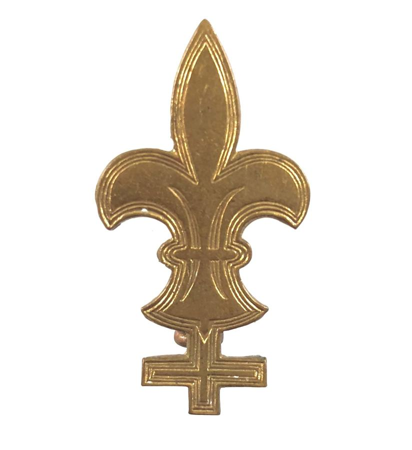 Baden Powell Trained Army Scouts sleeve badge