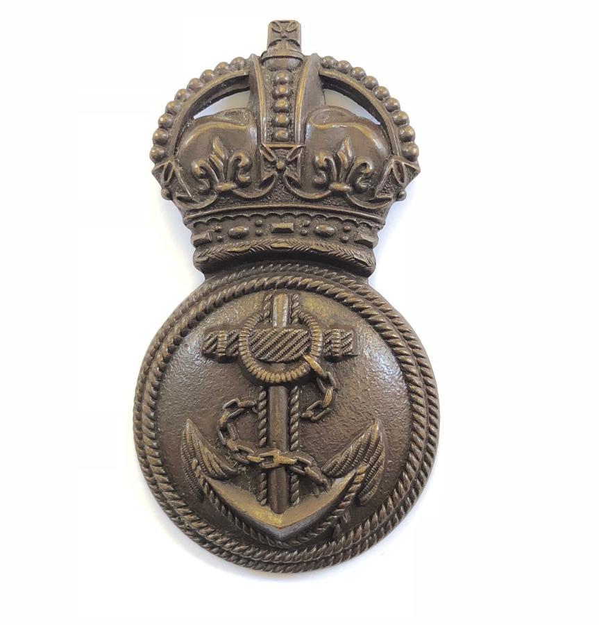 Royal Naval Division RND Chief Petty Officer's WW1 cap badge