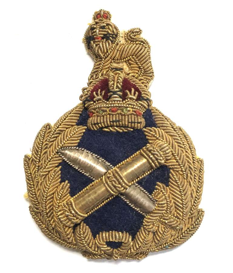 General Officer's bullion cap badge circa 1901-52