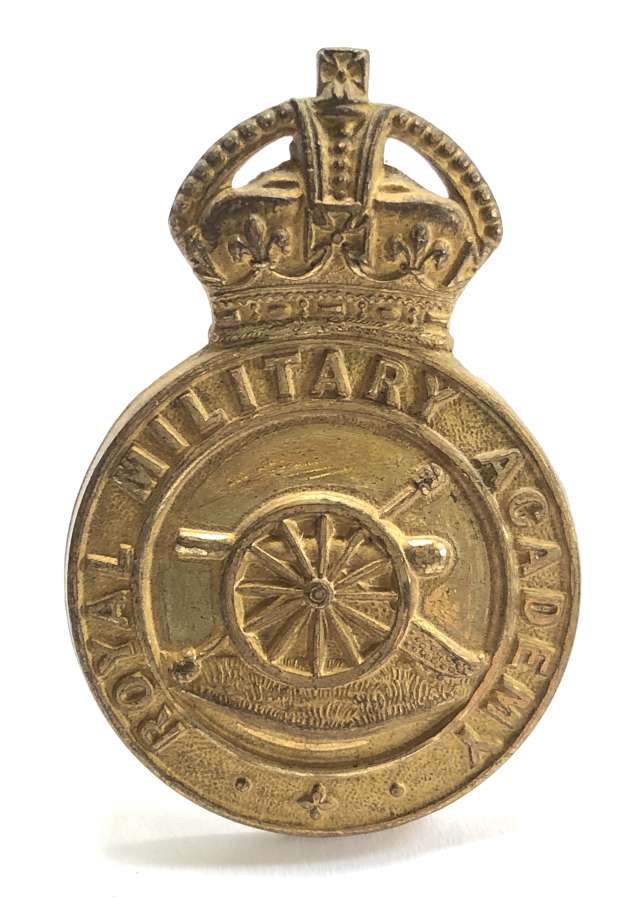 Royal Military Academy, Woolwich post 1901 cap badge