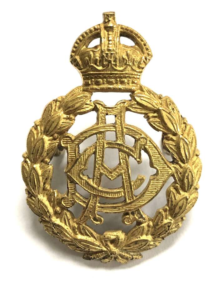 Army Dental Corps gilt Officer's cap badge by J & Co c1921-26