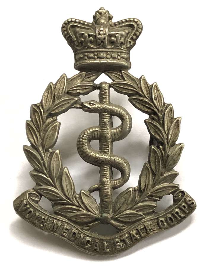 Volunteer Medical Staff Corps Victorian OR's cap badge c1896-1901