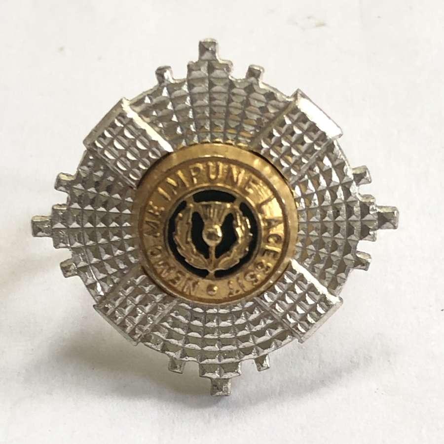 Scots Guards silver Officer's Service Dress cap star