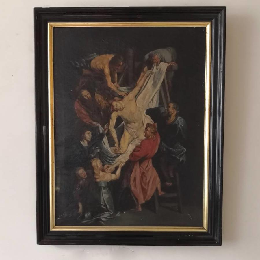 Descent from the cross after Rubens