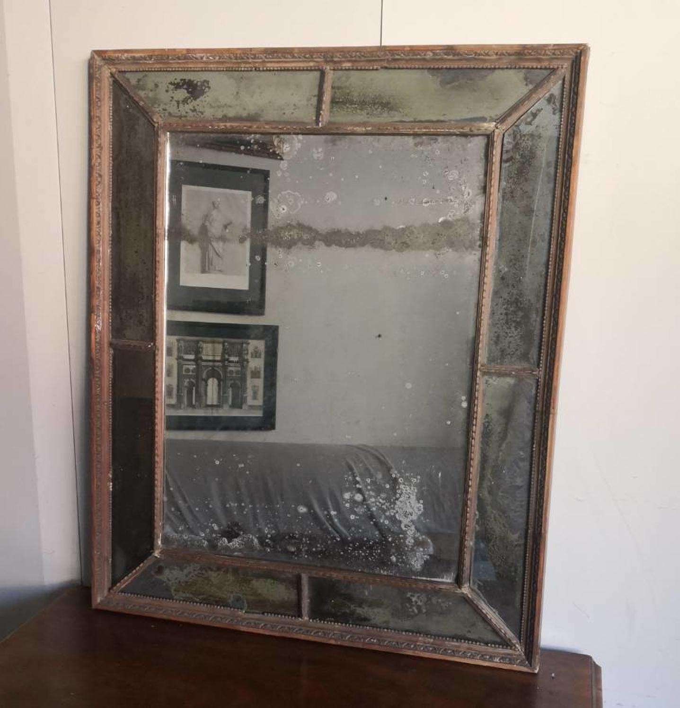 Eighteenth century sectional mirror
