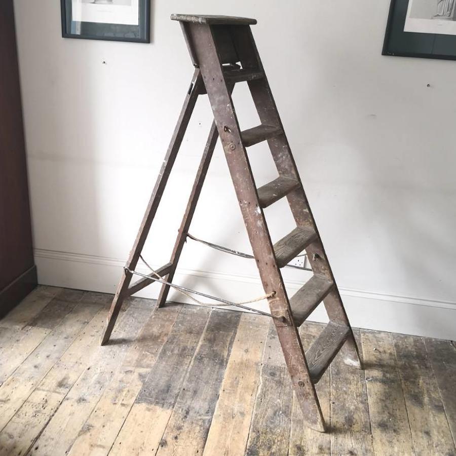 19th century step ladder