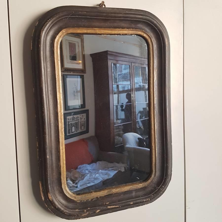 Small nineteenth century mirror