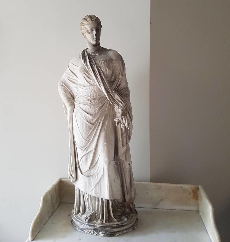 Antique plaster cast of Persephone