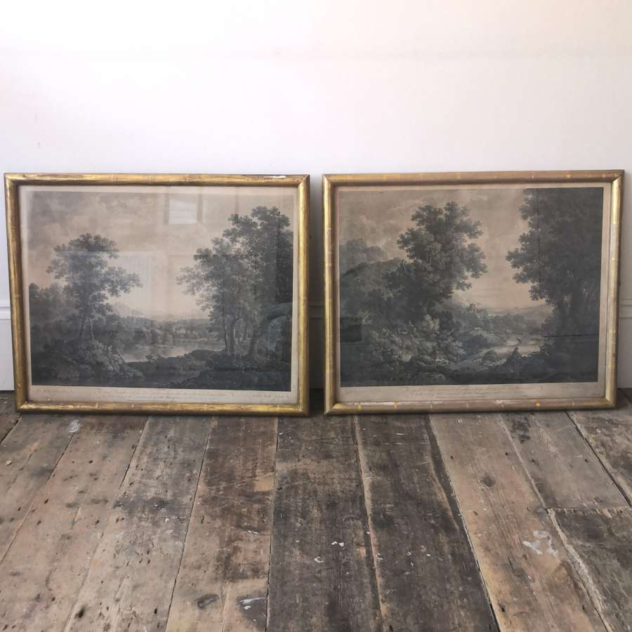 A pair of George Smith of Chichester framed prints