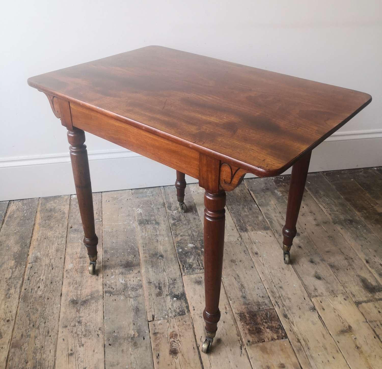Mahogany Holland and sons table