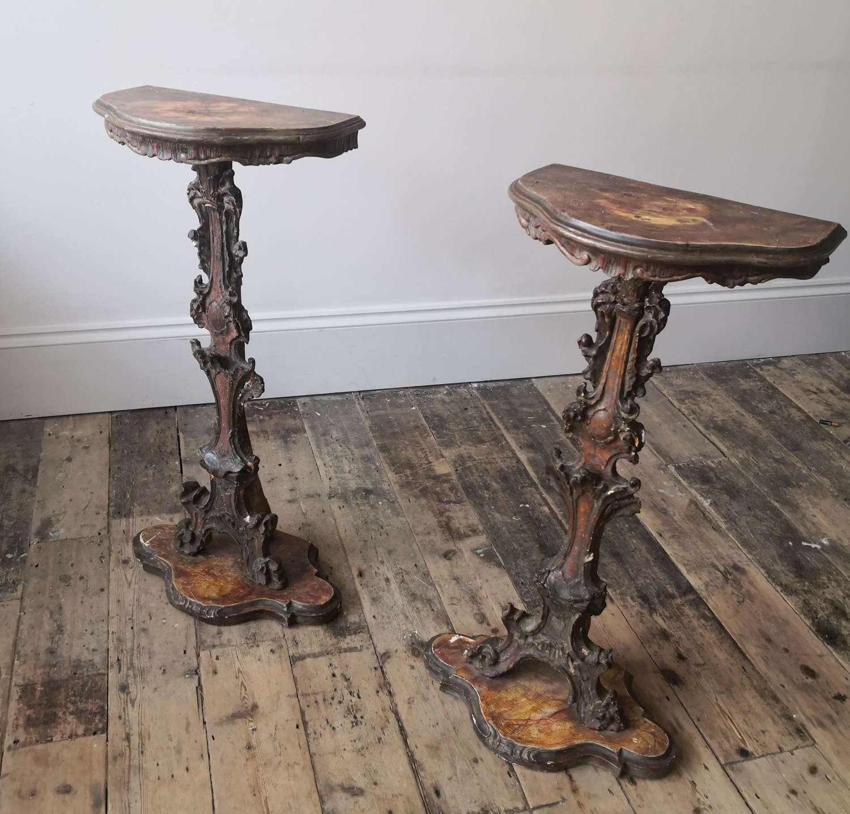 19th century Venetian tables