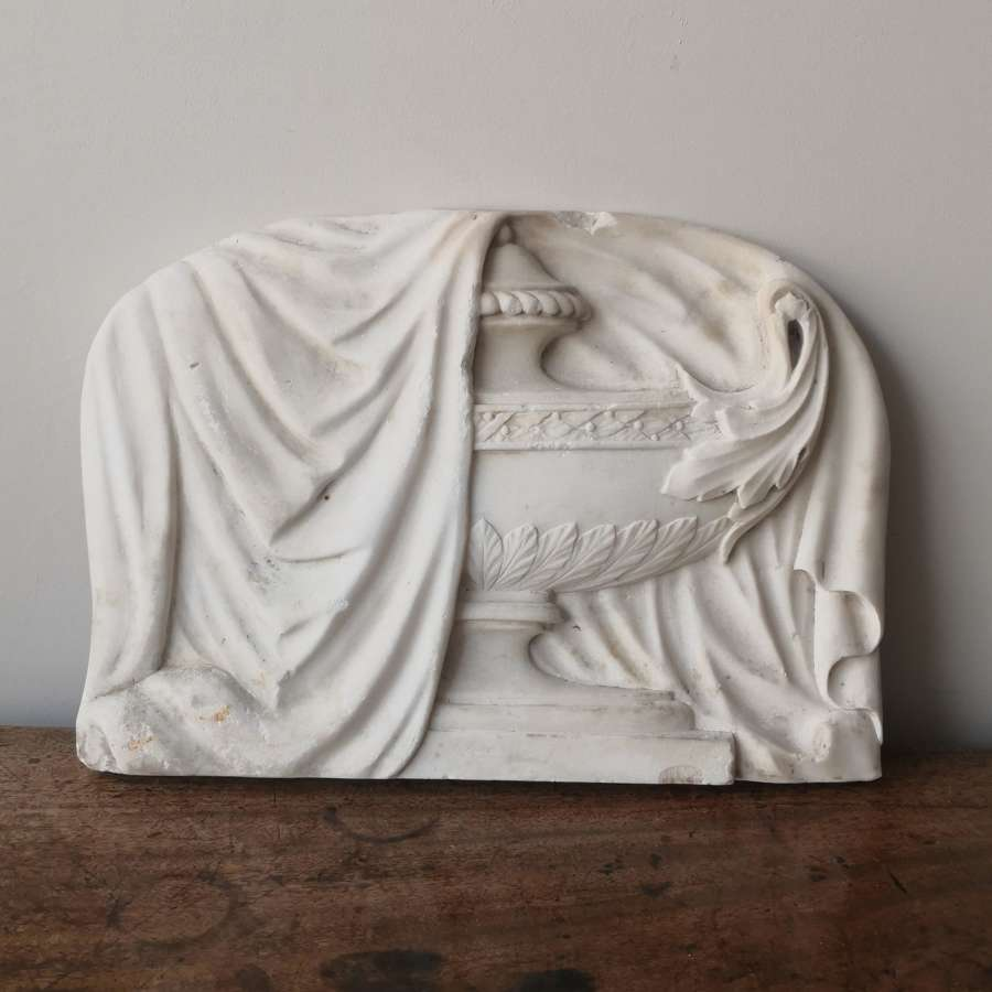 19th century funerary, monument, fragment