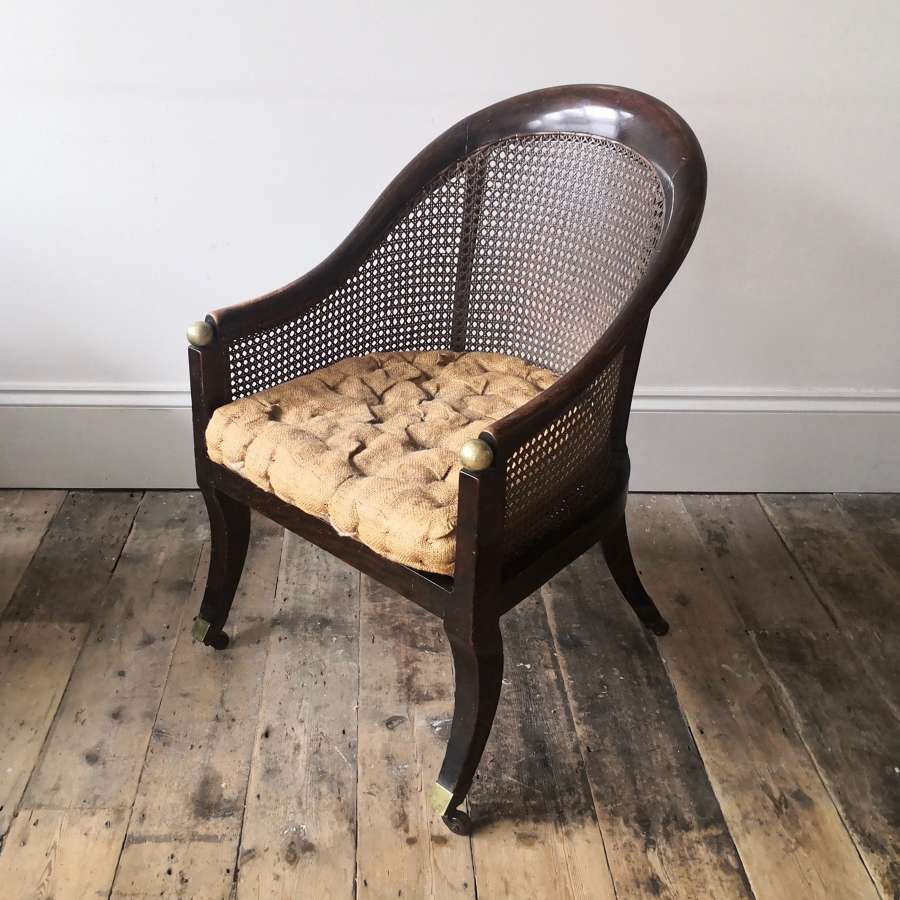 19th century bergere chair