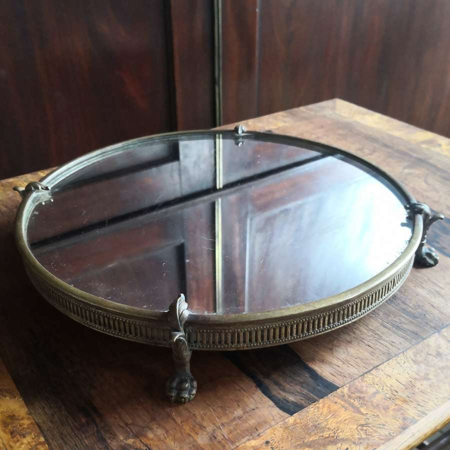 19th century table mirror centre piece