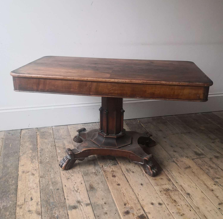 19th century Irish centre table