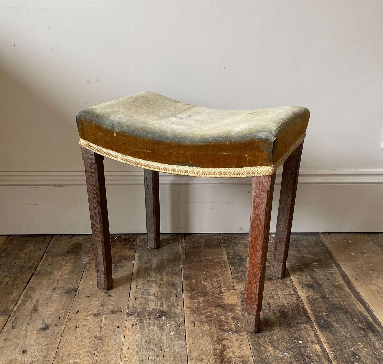 Rare Gillow (1932 LTD) Coronation stool