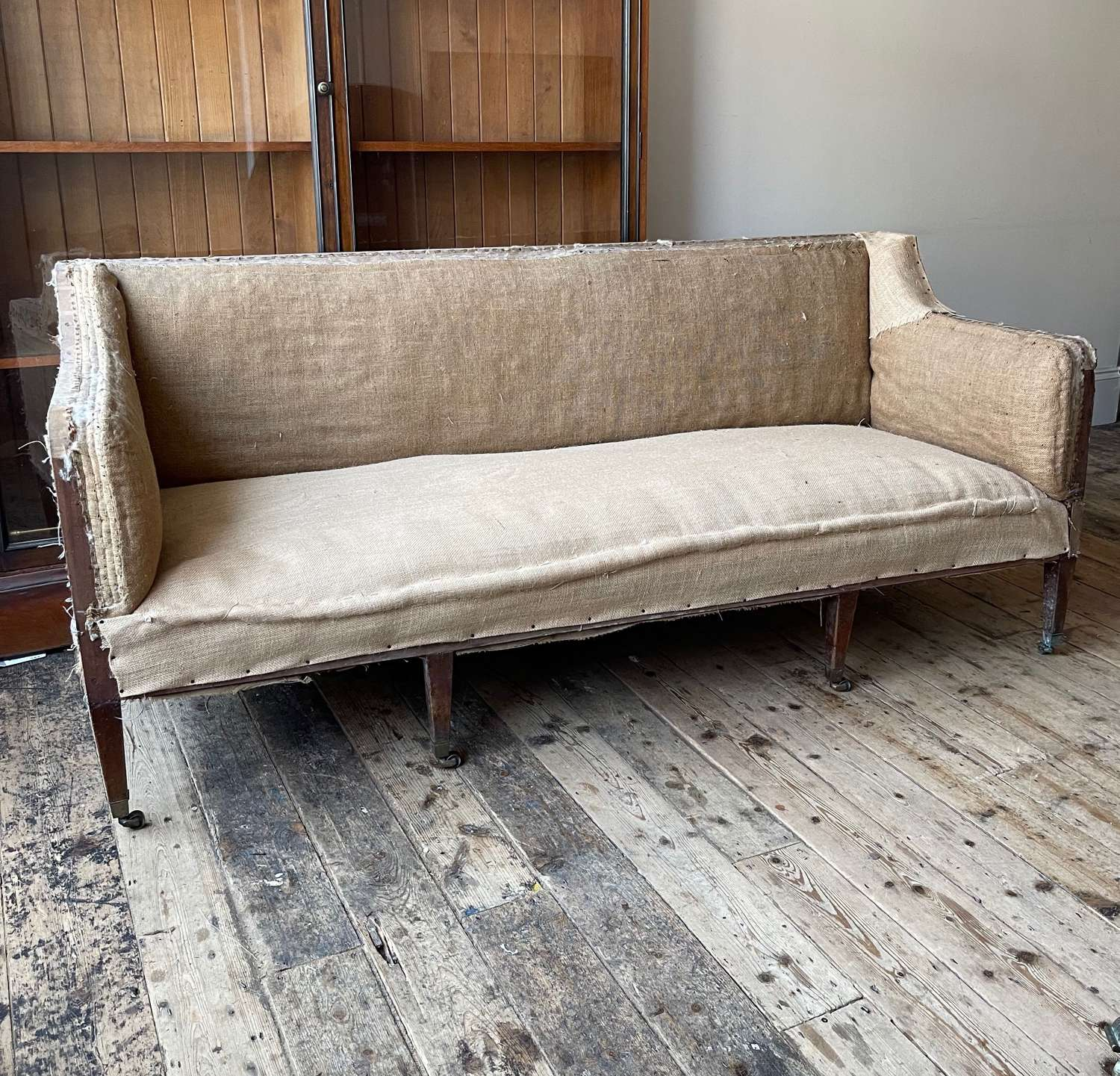 19th century country house sofa