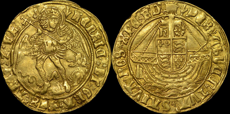 HENRY VII GOLD ANGEL, TYPE V