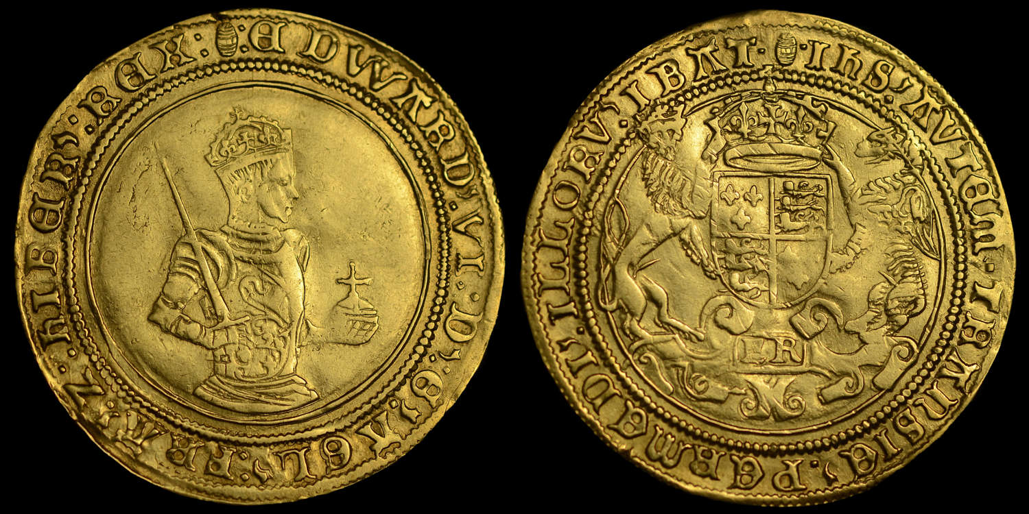EDWARD VI GOLD FULL SOVEREIGN