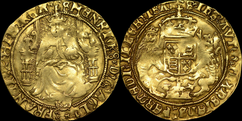 HENRY VIII, GOLD HALF-SOVEREIGN, SOUTHWARK MINT