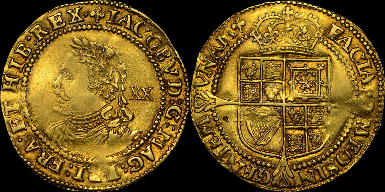 JAMES I GOLD LAUREL