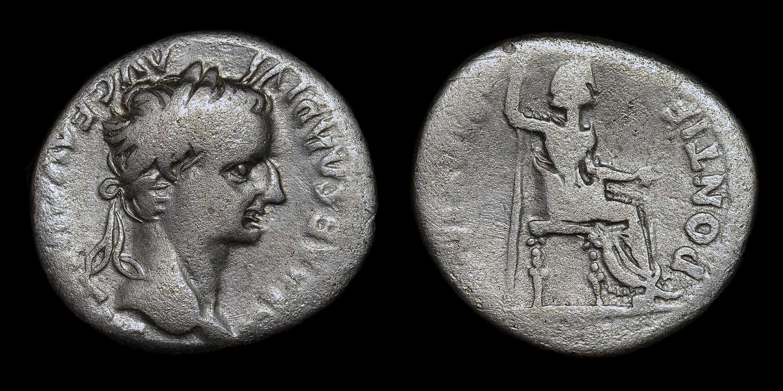 TIBERIUS SILVER DENARIUS