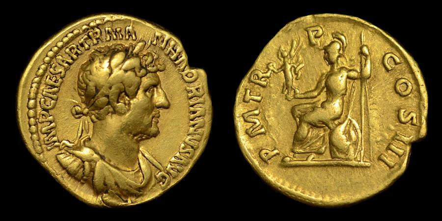 HADRIAN GOLD AUREUS