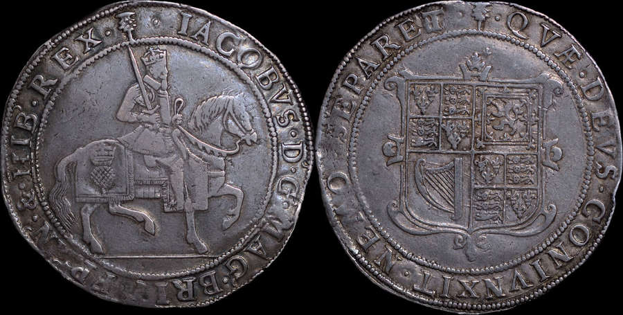 SCOTLAND, JAMES VI SIXTY SHILLINGS
