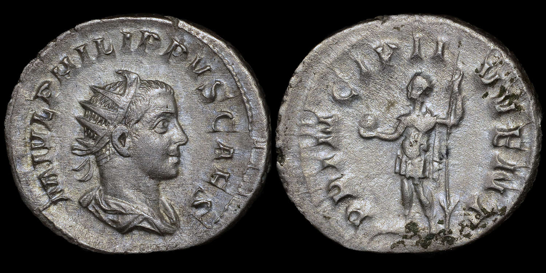 PHILIP II SILVER ANTONINIANUS