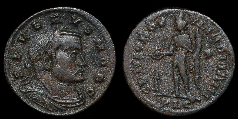SEVERUS II, BRONZE FOLLIS
